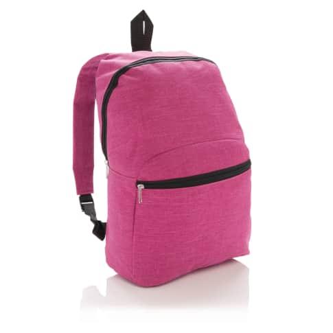 Rucksack Basic, 10 Liter, aufgesetzte Fronttasche Vorderansicht