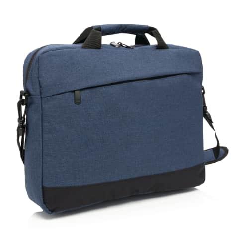 """Laptop-Tasche Trend, bis 15"""" Zoll, 8 Liter, zusätzliche Fronttasche Vorderansicht"""
