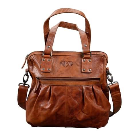 Handtasche Holly, abnehmbarer Schultergurt, Leder Vorderansicht