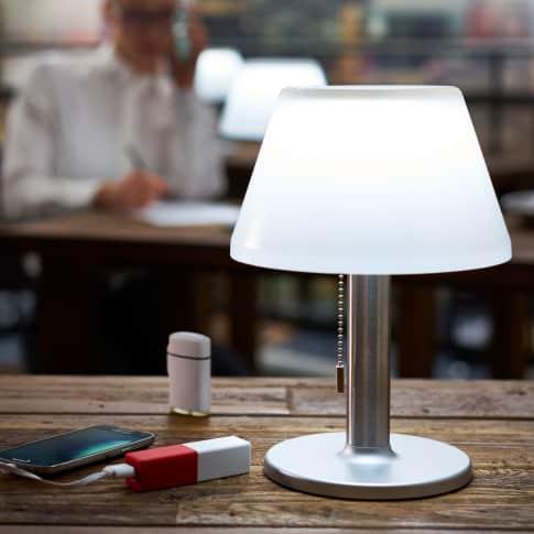 Solarleuchte Tischleuchte, LED, ca. H 28 cm Katalogbild
