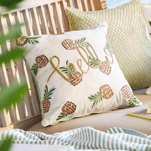 Kissenhülle Crazy Pineapple Katalogbild