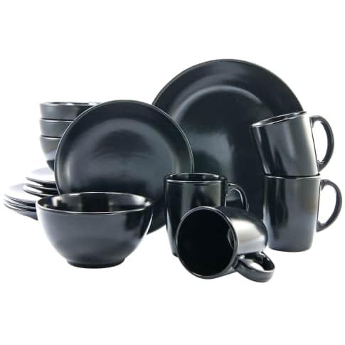 Geschirr-Set, 16-tlg. Akari, Spülmaschinen- und mikrowellengeeignet, Steingut Vorderansicht