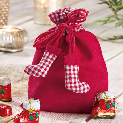 Weihnachtsbeutel Stiefelchen Katalogbild