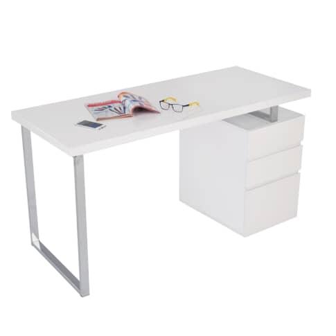 Weißer Schreibtisch Hochglanz 2021