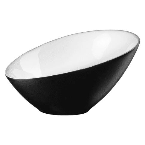 Schale, asymetrisch Schale Vongole Vorderansicht