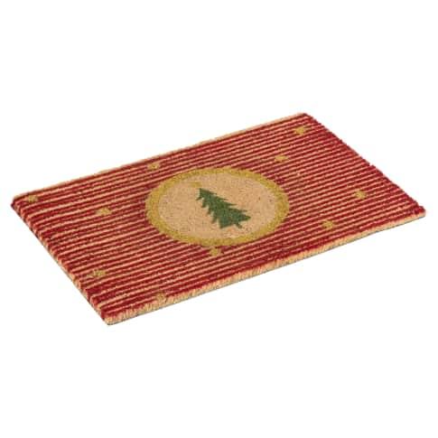 Kokos-Fußmatte Stripe, Kokosfasern Vorderansicht