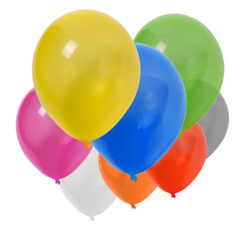 Luftballon-Set, 1000-tlg., 85 cm, inkl. Druck, 85 cm Umfang Vorderansicht