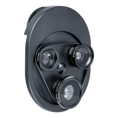 Aufsetzbares Fotolinsen Set DALAMAN Vorderansicht