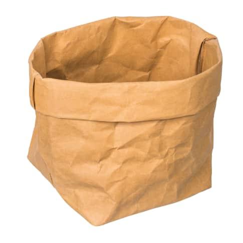 Behälter aus abwaschbarem Papier PARANA L Vorderansicht