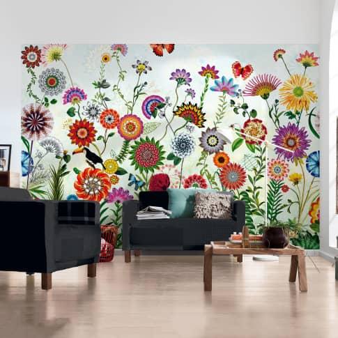 Fototapete Flower Power Katalogbild