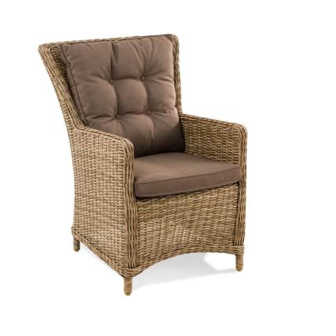 Outdoor-Stuhl Ponto Vorderansicht