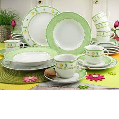 Geschirr-Set, 30-tlg. Lydia, spülmaschinengeeignet, Porzellan Katalogbild