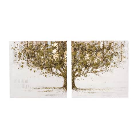 Bilder-Set, 2-tlg. Mystic Golden Tree Vorderansicht