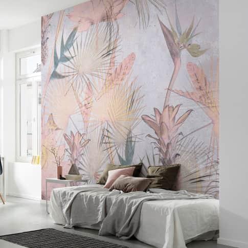 Fototapete Palmen und Ananas Katalogbild