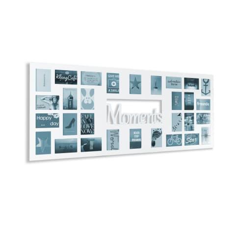 Bilderrahmen Moments, Für 30 Fotos, MDF, ca. B140 x H60 cm Vorderansicht