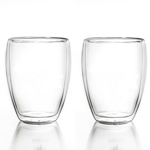 Thermoglas, 2er Set 250ml, robust und kratzfest Vorderansicht