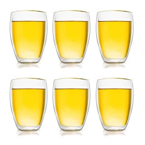 Thermoglas, 6er Set 250 ml, robust und kratzfest Vorderansicht
