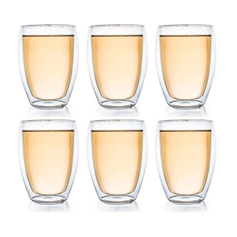 Thermoglas, 6er Set 400 ml, robust und kratzfest Vorderansicht