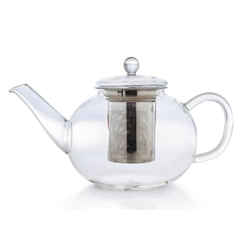 Teekanne flach 1,2l Vorderansicht