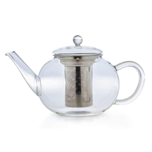 Teekanne flach 1,6l Vorderansicht