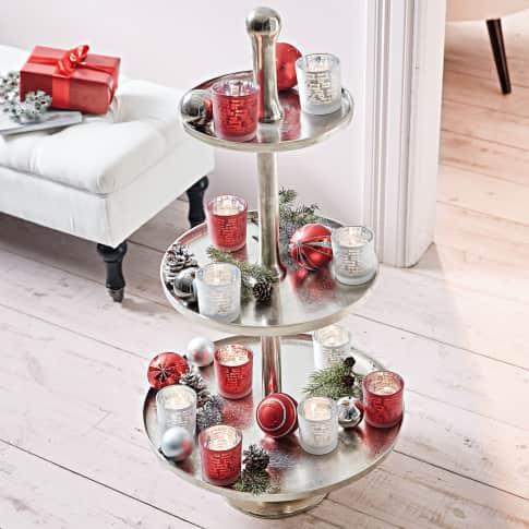 Teelichthalter Merry X-Mas, Glas Katalogbild