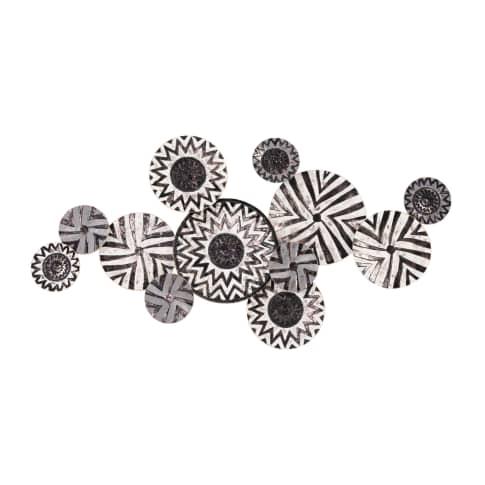 Wand-Objekt Black & White Vorderansicht