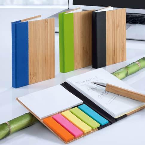 Mini-Haftnotizbuch Bambus Katalogbild