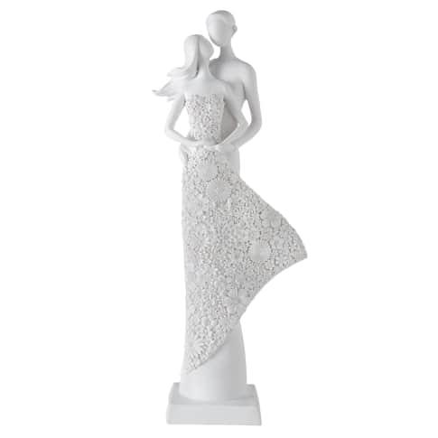 Deko-Figur Liebespaar Miga Vorderansicht