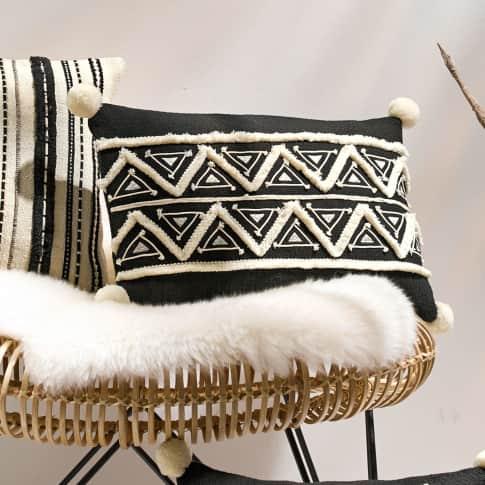 Kissenhülle Indira, mit Reißverschluss, Baumwolle Katalogbild