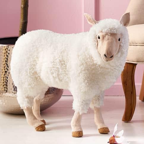 Deko-Figur Schaf Rosie, Kunststoff Katalogbild