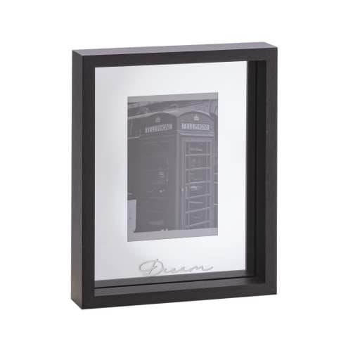 Wandobjekt Spiegel Bilderrahmen Dream, verspiegelte Innenrückseite, modern, MDF, Glas, ca. 19 x 24 x 4 cm Vorderansicht