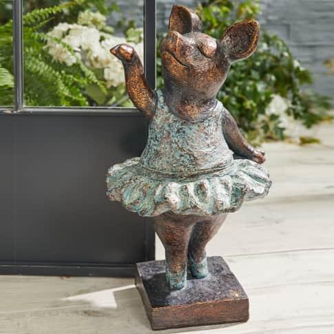 Deko-Figur Schweinchen Elsa, Outdoor geeignet Katalogbild