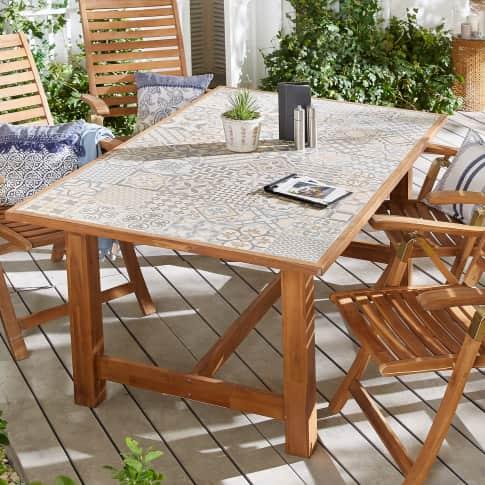 Outdoor-Tisch Fliese Katalogbild