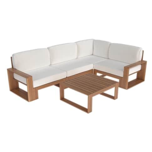 Outdoor-Lounge-Set, 5-tlg. Narbonne, inkl. Auflagen Vorderansicht