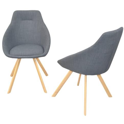 Stuhl-Set, 2-tlg. Freda Vorderansicht