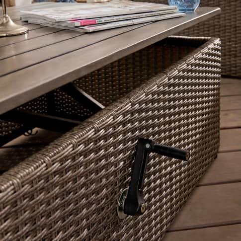 Outdoor-Lounge-Set, 2-tlg. Beach Detailansicht