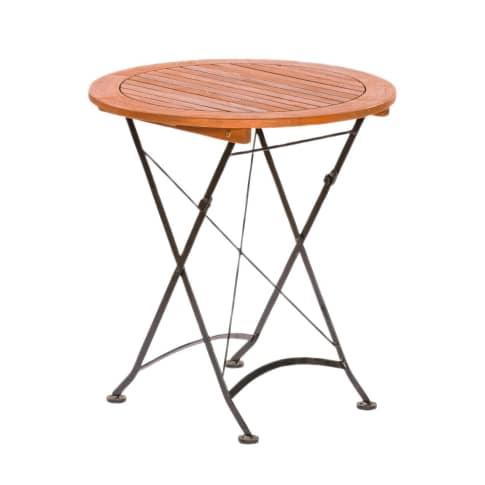Outdoor-Tisch, rund Bellagio Vorderansicht