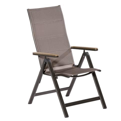 Spar-Set Outdoor-Stuhl-Set, 2-tlg. Denver Vorderansicht