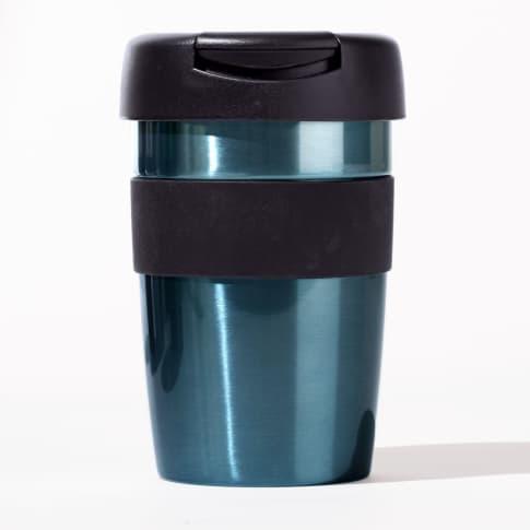 Coffee to go Becher Metallic, Fassungsvermögen ca. 0,35 l Vorderansicht