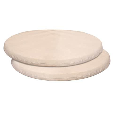 Sitzkissen-Set, 2-tlg. Versailles, wasserabweisende Bezüge, 60% Baumwolle, 40% Polyester, Ø ca. 49 cm Vorderansicht