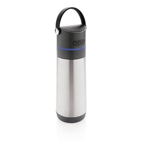 Party 3 in 1 Vakuum-Flasche, 3W Lautsprecher, Stimmungslicht Vorderansicht