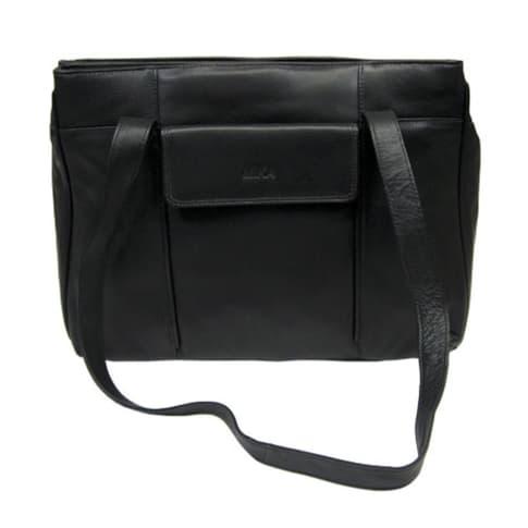 Damentasche, Schultertrageriemen, Handytasche, Magnetvortasche Vorderansicht