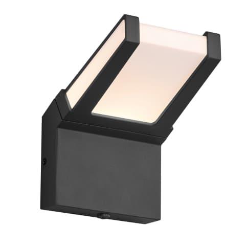 LED-Aussenlwandleuchte,  Pagen Vorderansicht
