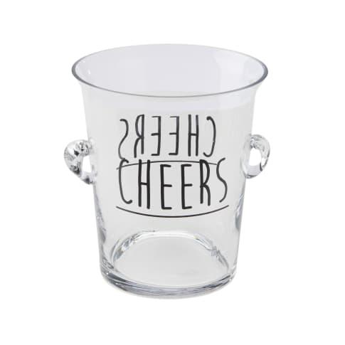Glas-Sektkühler Cheers Vorderansicht