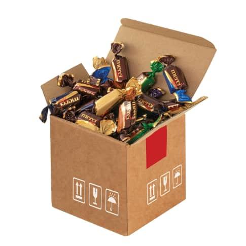 Mini-Cargo Merci-Chocolate Vorderansicht