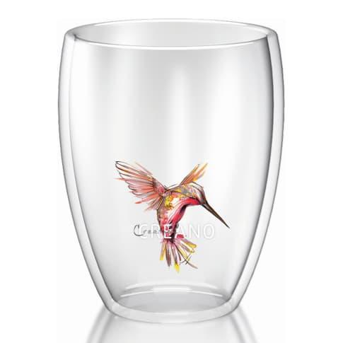 Thermo-Glas in Geschenkbox, 250ml Hummi Vorderansicht