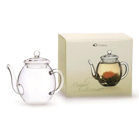 Glas-Teekannen-Set, 2-tlg. Vorderansicht