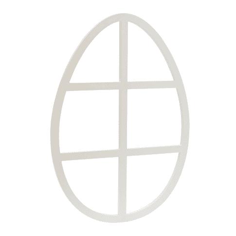 Deko-Objekt Osterei Vorderansicht