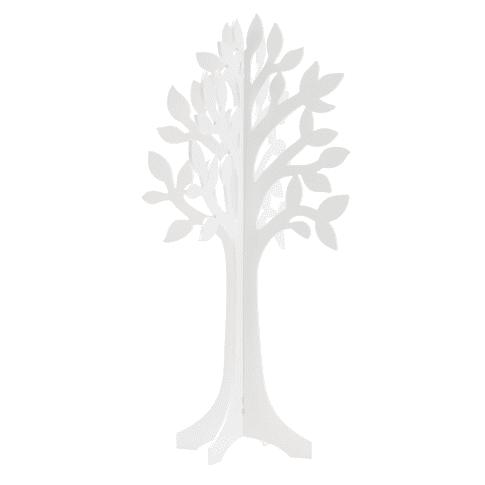 Deko-Objekt Baum, zusammensteckbar, MDF, ca. 80 cm hoch Vorderansicht