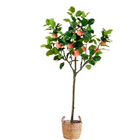 Kunstpflanze Apfelbaum Vorderansicht